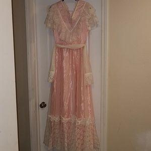 *Handmade Prairie / Western Dress, Size 6